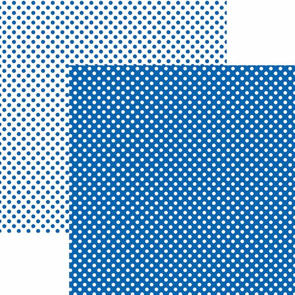 Papel-Scrapbook-Dupla-Face-Basico-305x305cm-Poa-Pequeno-Azul-Royal-KFSB451---Toke-e-Crie-by-Mariceli