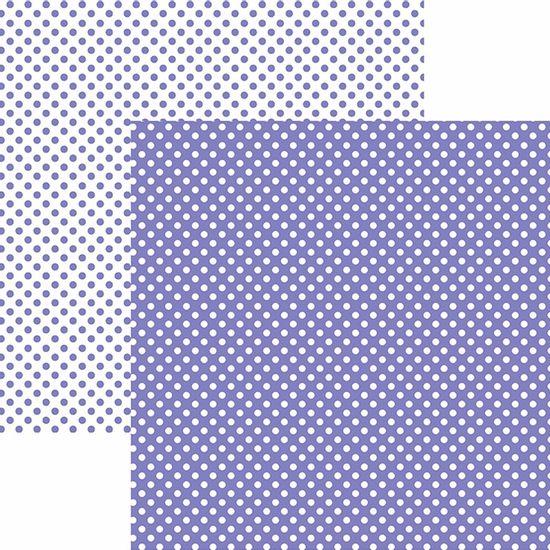 Papel-Scrapbook-Dupla-Face-Basico-305x305cm-Poa-Pequeno-Roxo-KFSB455---Toke-e-Crie-by-Mariceli