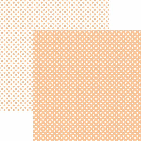 Papel-Scrapbook-Dupla-Face-Basico-305x305cm-Poa-Pequeno-Coral-KFSB463---Toke-e-Crie-by-Mariceli