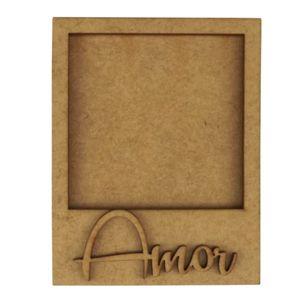 Moldura-Foto-Polaroid---Aplique-Amor-em-MDF-11x86cm---Palacio-da-Arte