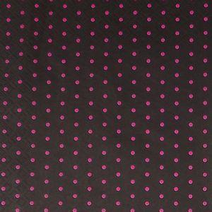 Guardanapo-Decoupage-Poa-Pink-Fundo-Preto-2-unidades-GCD211362---Toke-e-Crie