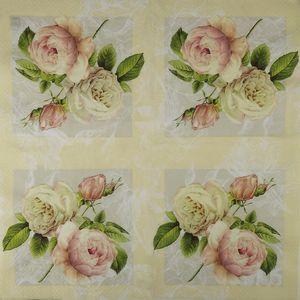Guardanapo-Decoupage-Rosas-Vintage-2-unidades-GCD211237---Toke-e-Crie
