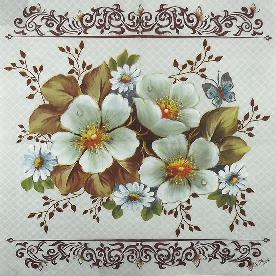 Guardanapo-Decoupage-Rosas-Silvestres-Brancas-2-unidades-GBM036---Toke-e-Crie-by-Mamiko