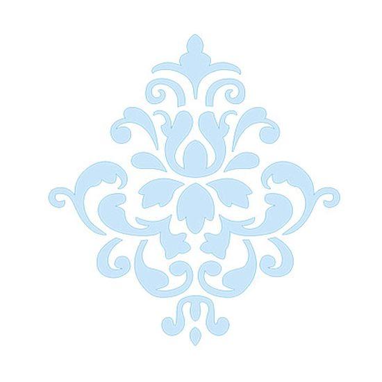 Stencil-para-Pintura-e-Confeitaria-10x8cm-Arabesco-Imperial-SC2-001---Litoarte