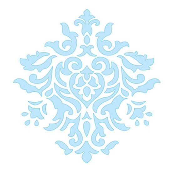 Stencil-para-Pintura-e-Confeitaria-10x8cm-Arabesco-Floral-SC2-005---Litoarte