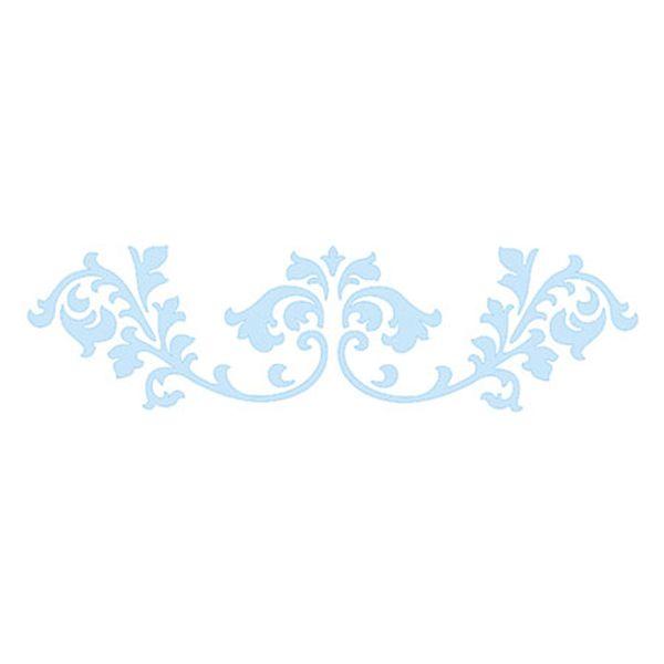 Stencil-para-Pintura-e-Confeitaria-215x6cm-Arabesco-Barroco-SC3-003---Litoarte