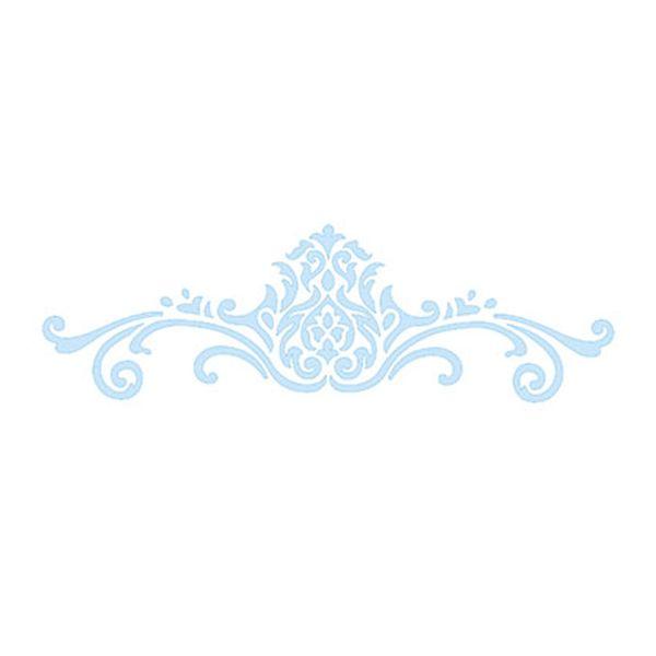 Stencil-para-Pintura-e-Confeitaria-215x6cm-Arabesco-Floral-SC3-005---Litoarte