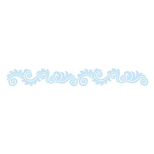 Stencil-para-Pintura-e-Confeitaria-215x6cm-Arabesco-Ornamental-SC3-007---Litoarte