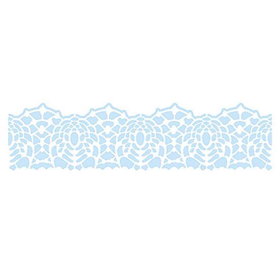 Stencil-para-Pintura-e-Confeitaria-215x6cm-Renda-SC3-008---Litoarte