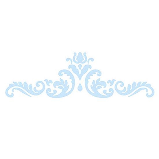 Stencil-para-Pintura-e-Confeitaria-32x10cm-Arabesco-Realeza-SC4-006---Litoarte