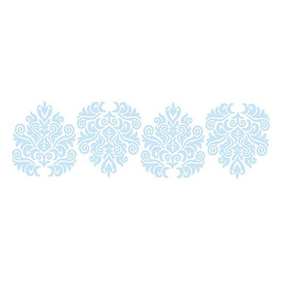 Stencil-para-Pintura-e-Confeitaria-32x10cm-Arabesco-Ornamental-SC4-007---Litoarte