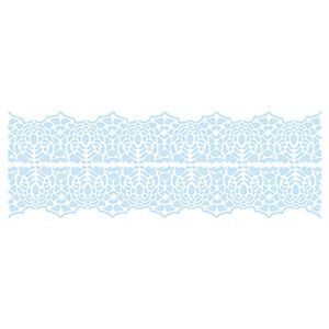 Stencil-para-Pintura-e-Confeitaria-32x10cm-Renda-SC4-008---Litoarte