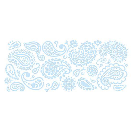 Stencil-para-Pintura-e-Confeitaria-38x15cm-Paisley-SC5-009---Litoarte