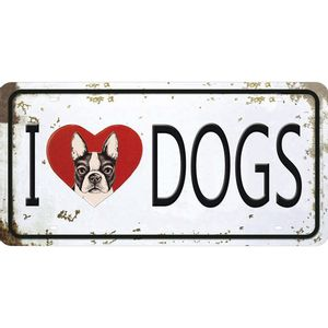 Placa-Decorativa-15x30cm-I-Love-Dogs-LPD-056---Litocart