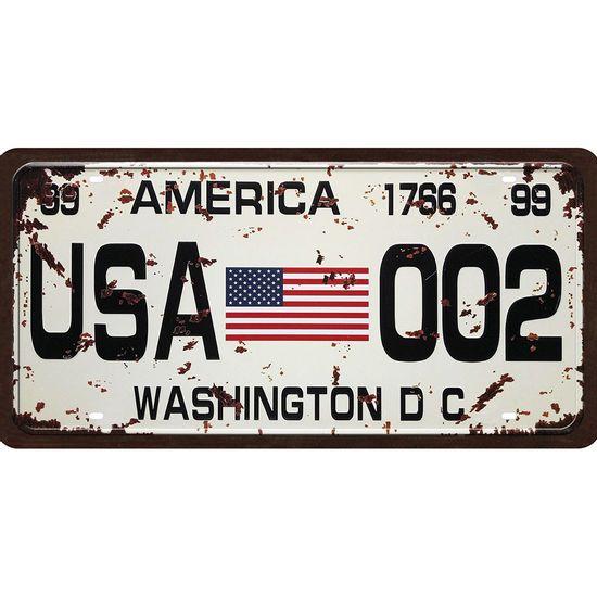 Placa-Decorativa-15x30cm-Estados-Unidos-LPD-062---Litocart