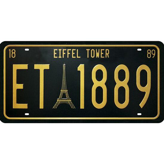 Placa-Decorativa-15x30cm-Eiffel-Tower-LPD-063---Litocart
