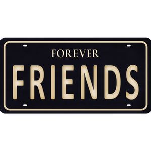 Placa-Decorativa-15x30cm-Forever-Friends-LPD-074---Litocart