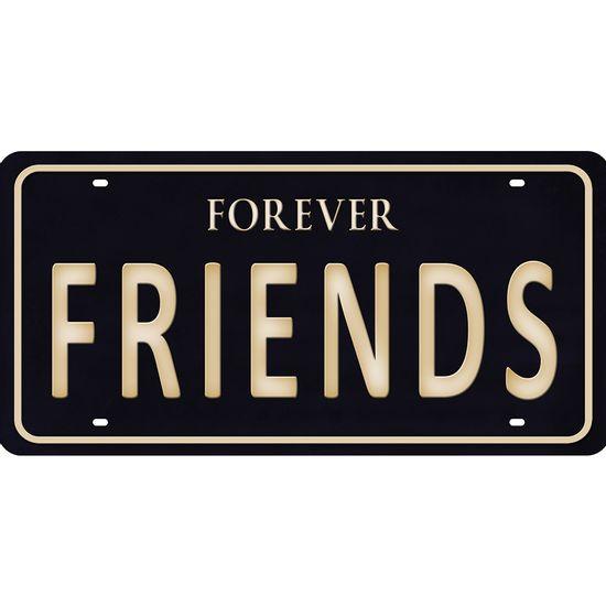 Placa-Decorativa-15x30cm-Forever-Friends-LPD-074---Litocart