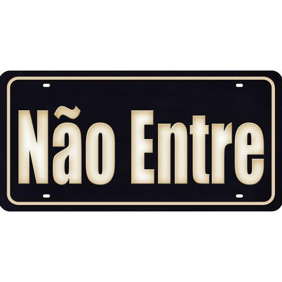 Placa-Decorativa-15x30cm-Nao-Entre-LPD-076---Litocart