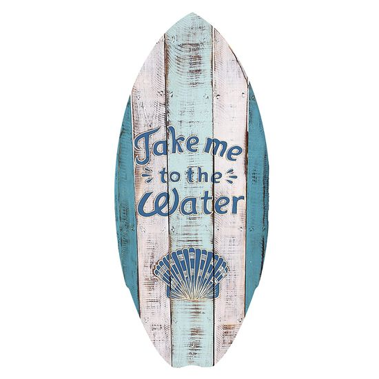 Placa-Decorativa-15x30cm-Take-Me-To-The-Water-LPDR-004---Litocart