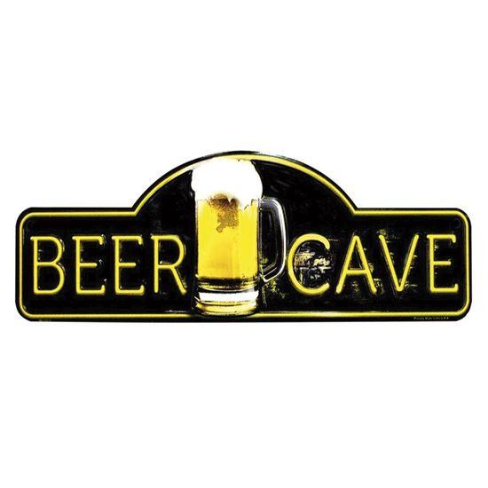 Placa-Decorativa-15x30cm-Beer-Cave-LPDR-012---Litocart