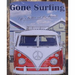 Placa-Decorativa-245x195cm-Gone-Surfing-LPMC-079---Litocart
