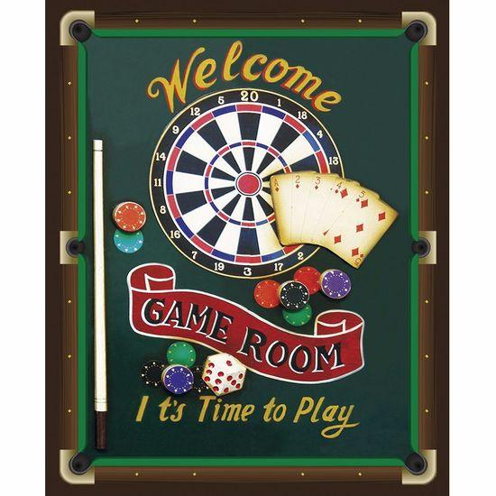 Placa-Decorativa-245x195cm-Welcome-Game-Room-LPMC-084---Litocart
