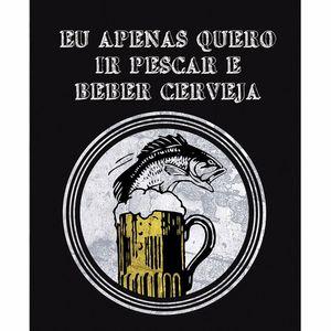 Placa-Decorativa-245x195cm-Pescar-e-Beber-Cerveja-LPMC-086---Litocart
