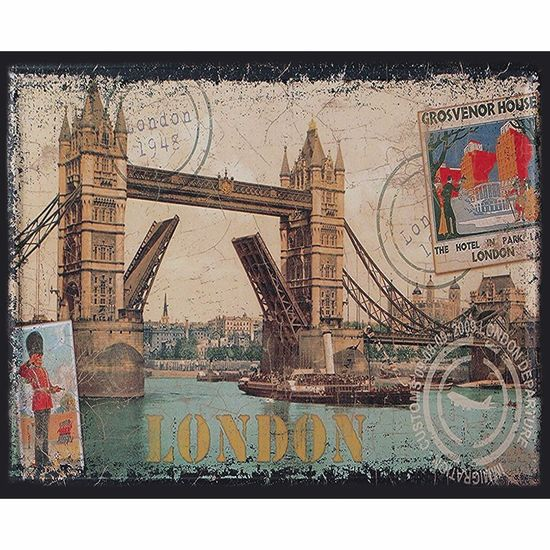 Placa-Decorativa-245x195cm-London-Postcard-LPMC-096---Litocart