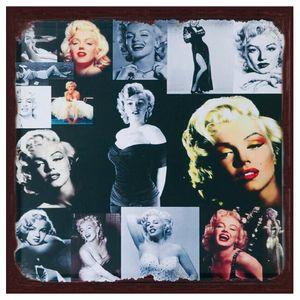 Placa-Decorativa-25x25cm-Marilyn-Monroe-LPQC-041--Litocart