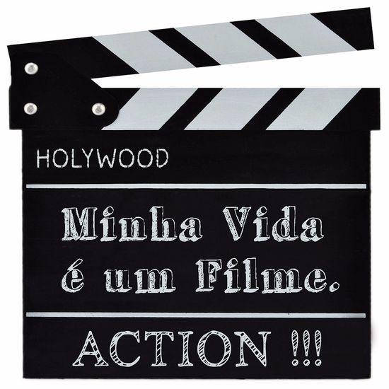 Placa-Decorativa-25x25cm-Minha-Vida-e-um-Filme-LPQC-048---Litocart