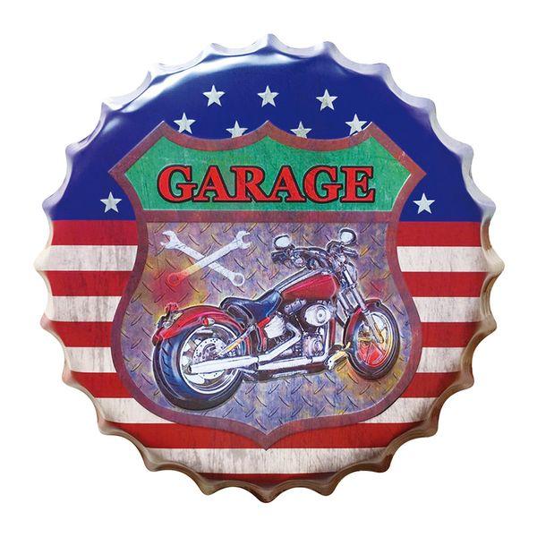 Placa-Decorativa-25x25cm-Moto-LPQC-023---Litocart