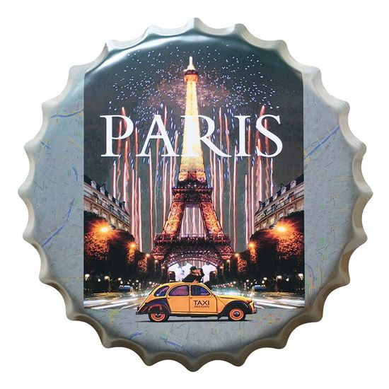 Placa-Decorativa-25x25cm-Paris-LPQC-026---Litocart