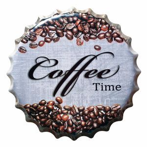 Placa-Decorativa-25x25cm-Coffee-Time-LPQC-033---Litocart