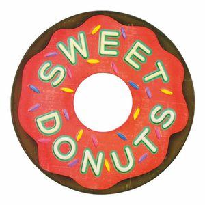 Placa-Decorativa-25x25cm-Sweet-Donuts-LPQC-037---Litocart