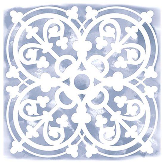 Stencil-para-Pintura-Simples-14X14cm-Azulejo-Mexico-STA-018---Litoarte