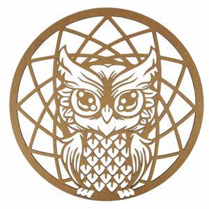Mandala-Coruja-em-MDF-13x13cm---Palacio-da-Arte