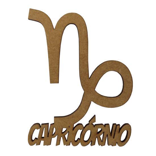 Aplique-em-MDF-8x65cm-Signo-de-Capricornio---Palacio-da-Arte