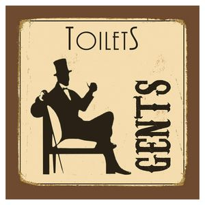Placa-Decorativa-20X20cm-Toilets-Gents-LPDXX-006---Litocart
