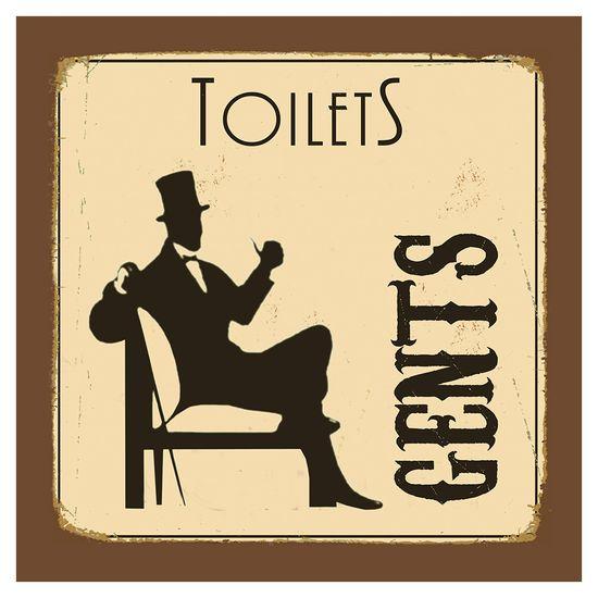 Placa-Decorativa-20X20cm-Toilets-Gents-LPDXX-006---Litocart