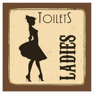Placa-Decorativa-20X20cm-Toilets-Ladies-LPDXX-007---Litocart