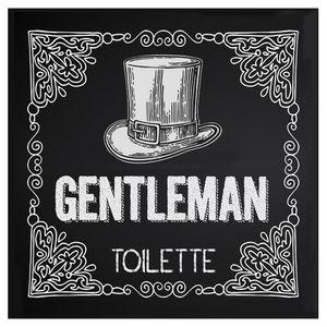 Placa-Decorativa-20X20cm-Gentleman-Toilette-LPDXX-008---Litocart