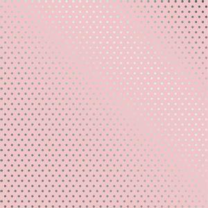 Papel-Scrapbook-Toke-e-Crie-SDF726-Simples-305x305cm-Metalizado-Poa-Prateado-Fundo-Rosa