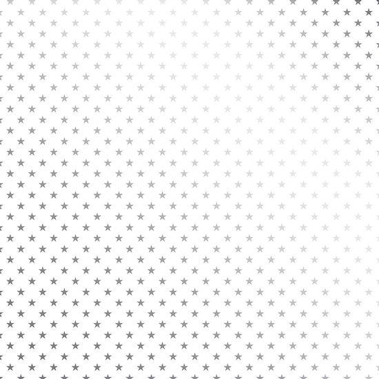 Papel-Scrapbook-Toke-e-Crie-SDF709-Simples-305x305cm-Metalizado-Estrelas-Prateado-Fundo-Branco