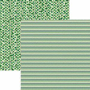 Papel-Scrapbook-Toke-e-Crie-KFSB498-Dupla-Face-305x305cm-Chevron-e-Triangulos-Verde-by-Mariceli