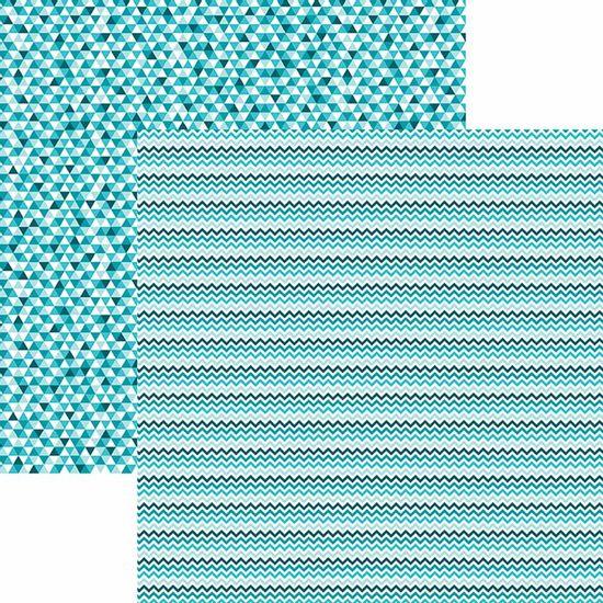 Papel-Scrapbook-Toke-e-Crie-KFSB518-Dupla-Face-305x305cm-Chevron-e-Triangulos-Turquesa-by-Mariceli