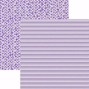 Papel-Scrapbook-Toke-e-Crie-KFSB514-Dupla-Face-305x305cm-Chevron-e-Triangulos-Roxo-by-Mariceli