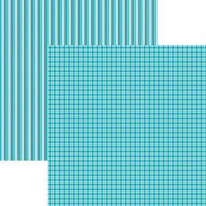 Papel-Scrapbook-Toke-e-Crie-KFSB517-Dupla-Face-305x305cm-Xadrez-e-Listras-Turquesa-by-Mariceli