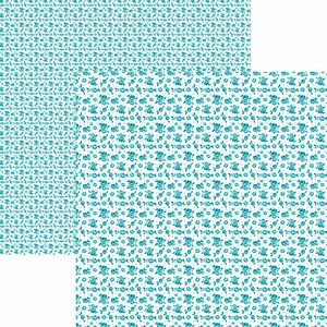 Papel-Scrapbook-Toke-e-Crie-KFSB519-Dupla-Face-305x305cm-Florzinhas-Turquesa-by-Mariceli