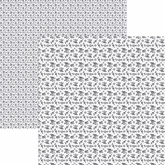 Papel-Scrapbook-Toke-e-Crie-KFSB527-Dupla-Face-305x305cm-Florzinhas-Preto-by-Mariceli